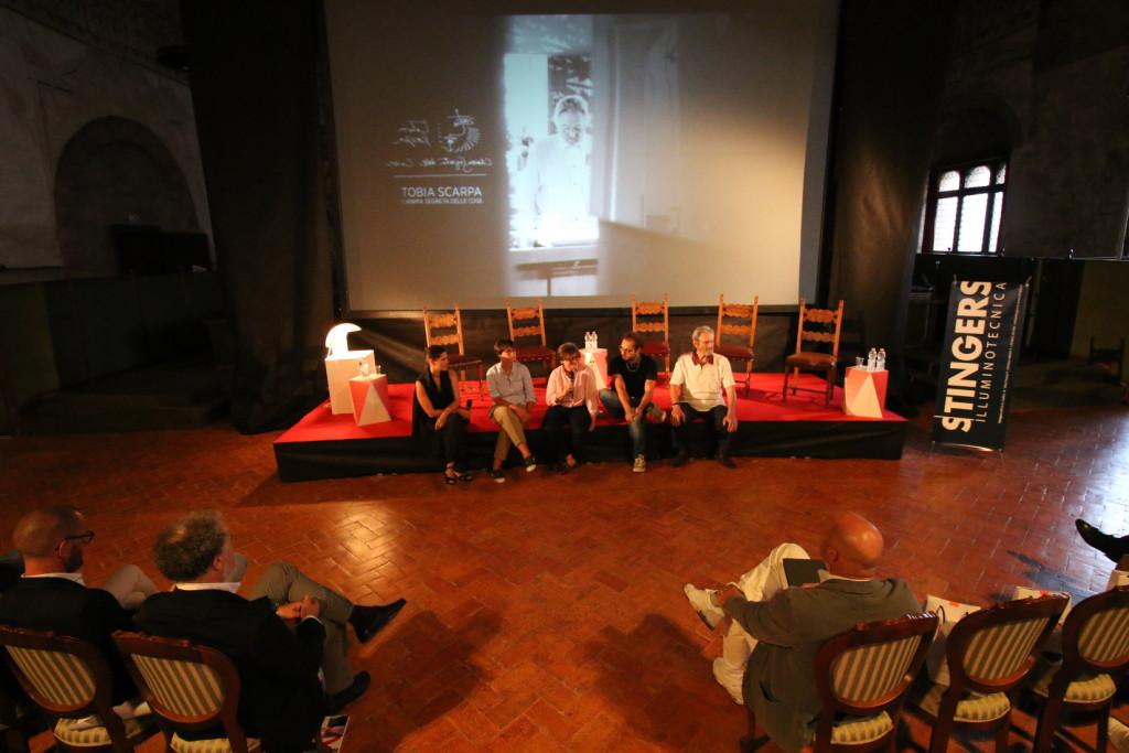 """Presentazione di """"Tobia Scarpa – L'anima segreta delle cose"""" Sole Luna Treviso Doc Film Festival 2016, Palazzo dei Trecento Foto di Angelo De Stefani"""
