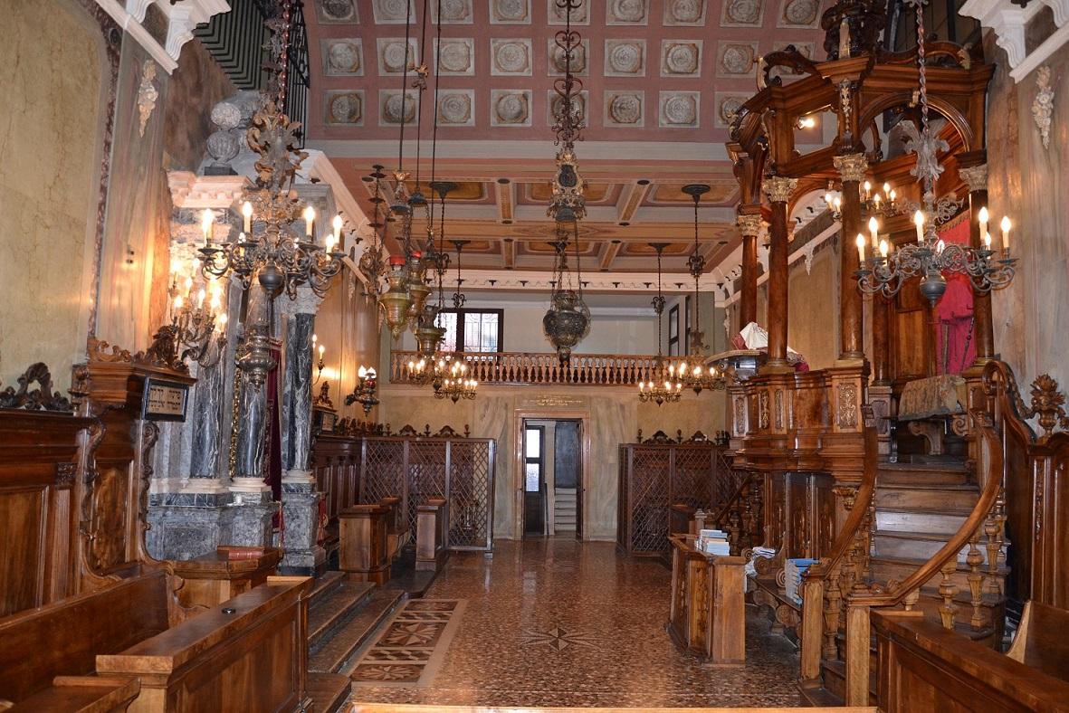 Il museo della padova ebraica tra tessuti argenti for Tessuti per arredamento padova